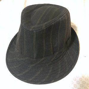 LAST CHANCE 10/13🔸Pinstripe Charcoal Fedora Hat